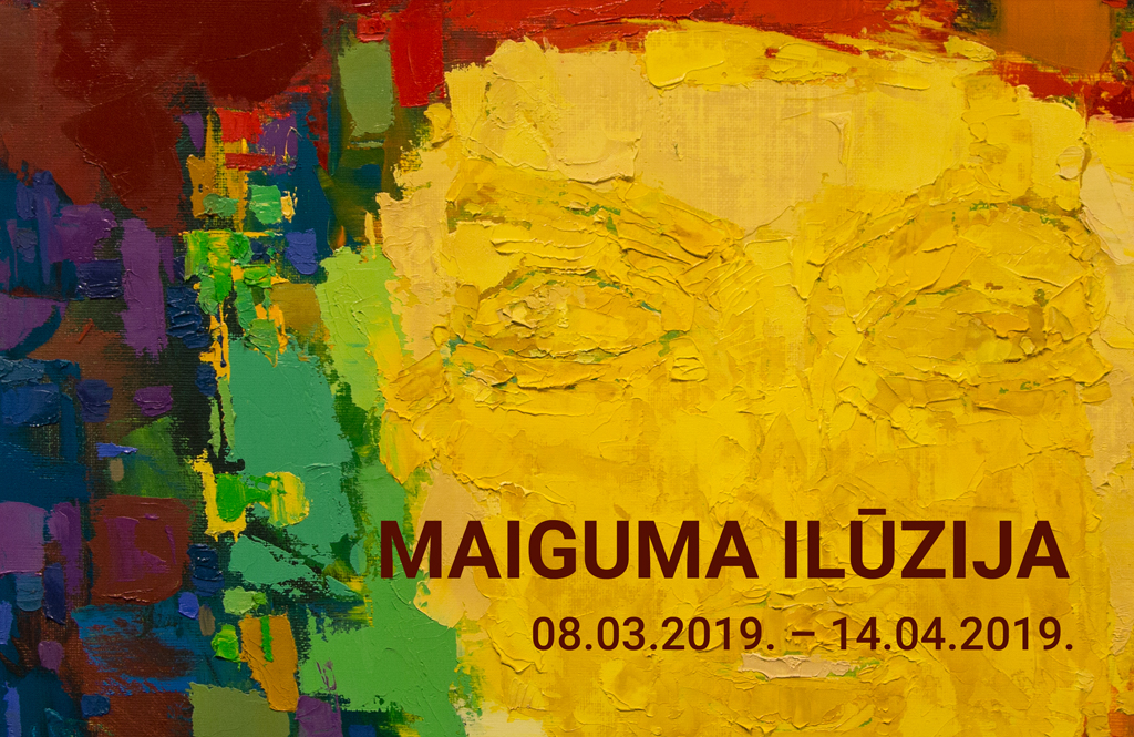 """Daugavpils Marka Rotko mākslas centra glezniecības kolekcijas izstāde """"MAIGUMA ILŪZIJA""""."""