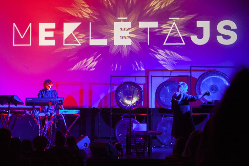 Rotko centrā elektroniskās un gongu mūzikas koncerts