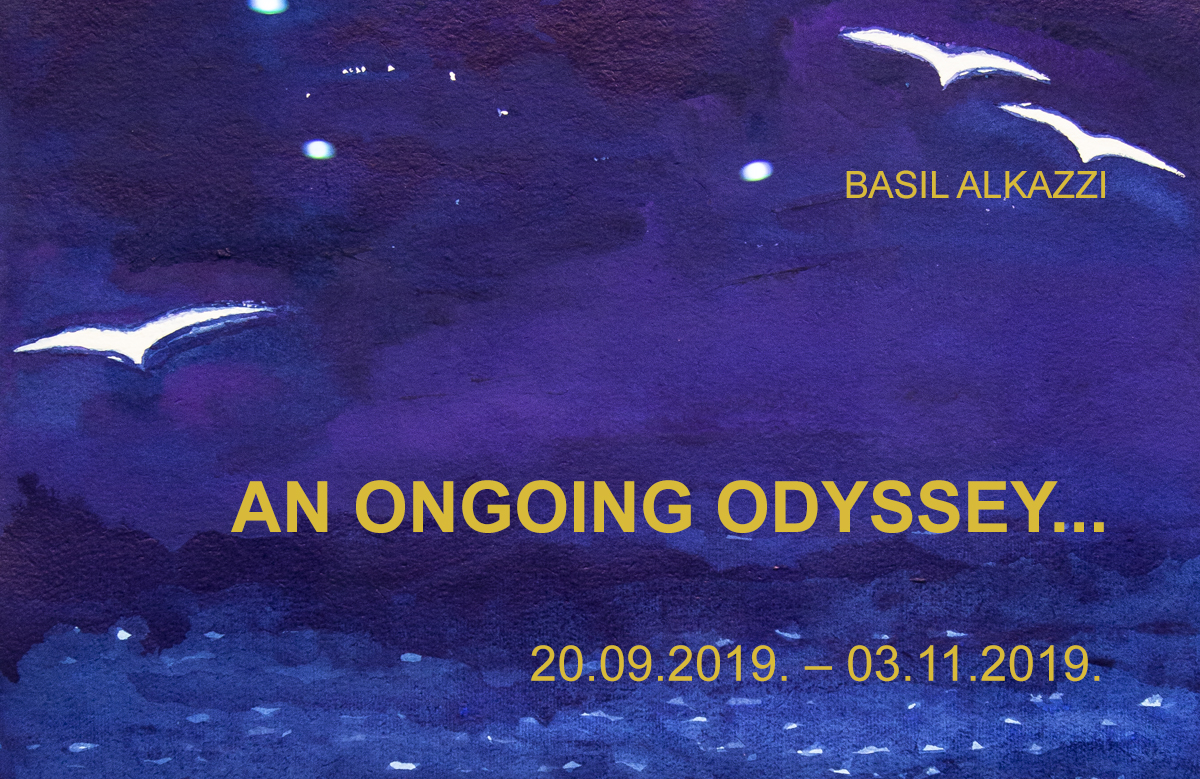 BASIL ALKAZZI – AN ONGOING ODYSSEY…