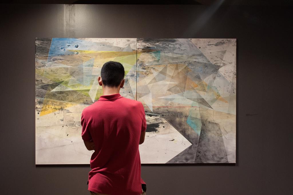 Открытие выставки симпозиума по живописи