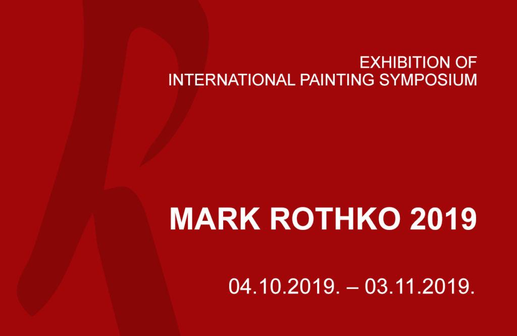 "15th International Painting Symposium ""Mark Rothko 2019"" title="