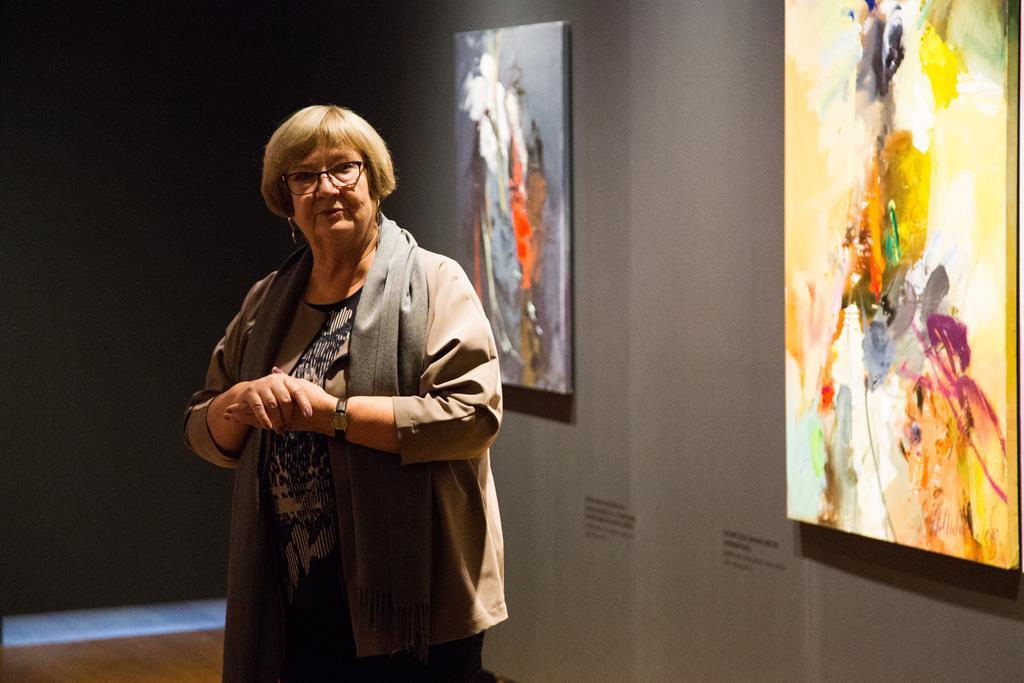 Māksliniece Anita Meldere vadīs portretu meistardarbnīcu
