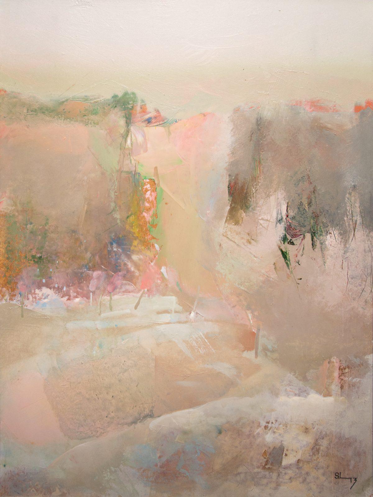 Silvas Linartes gleznu izstāde Rēzeknē