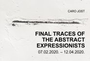 FINAL TRACES OF THE ABSTRACT EXPRESSIONISTS
