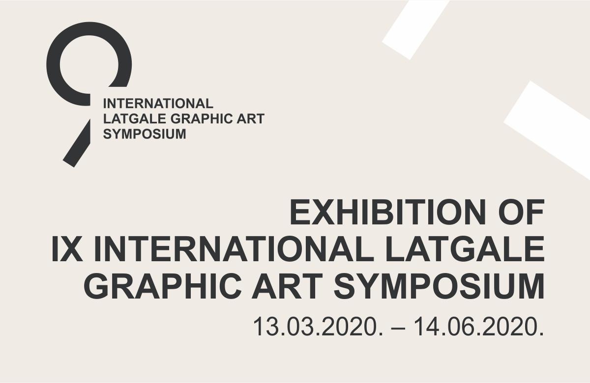 Exhibition of IX International Latgale Graphic Art Symposium
