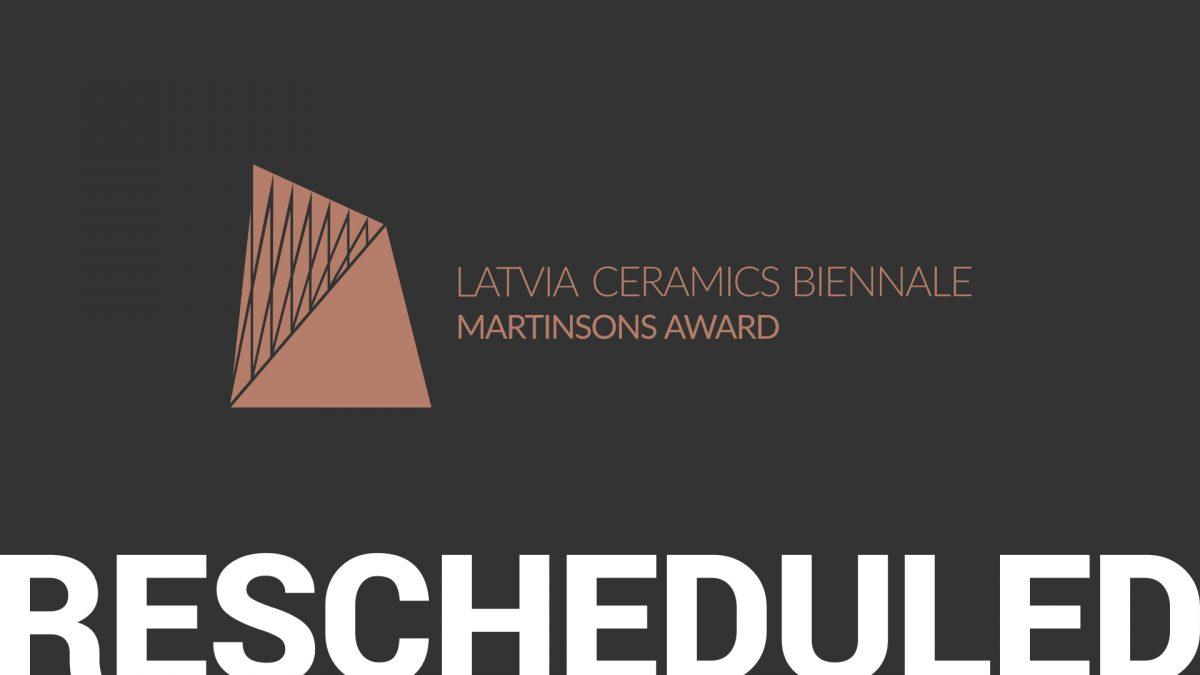 3rd Latvia Ceramics Biennale is rescheduled