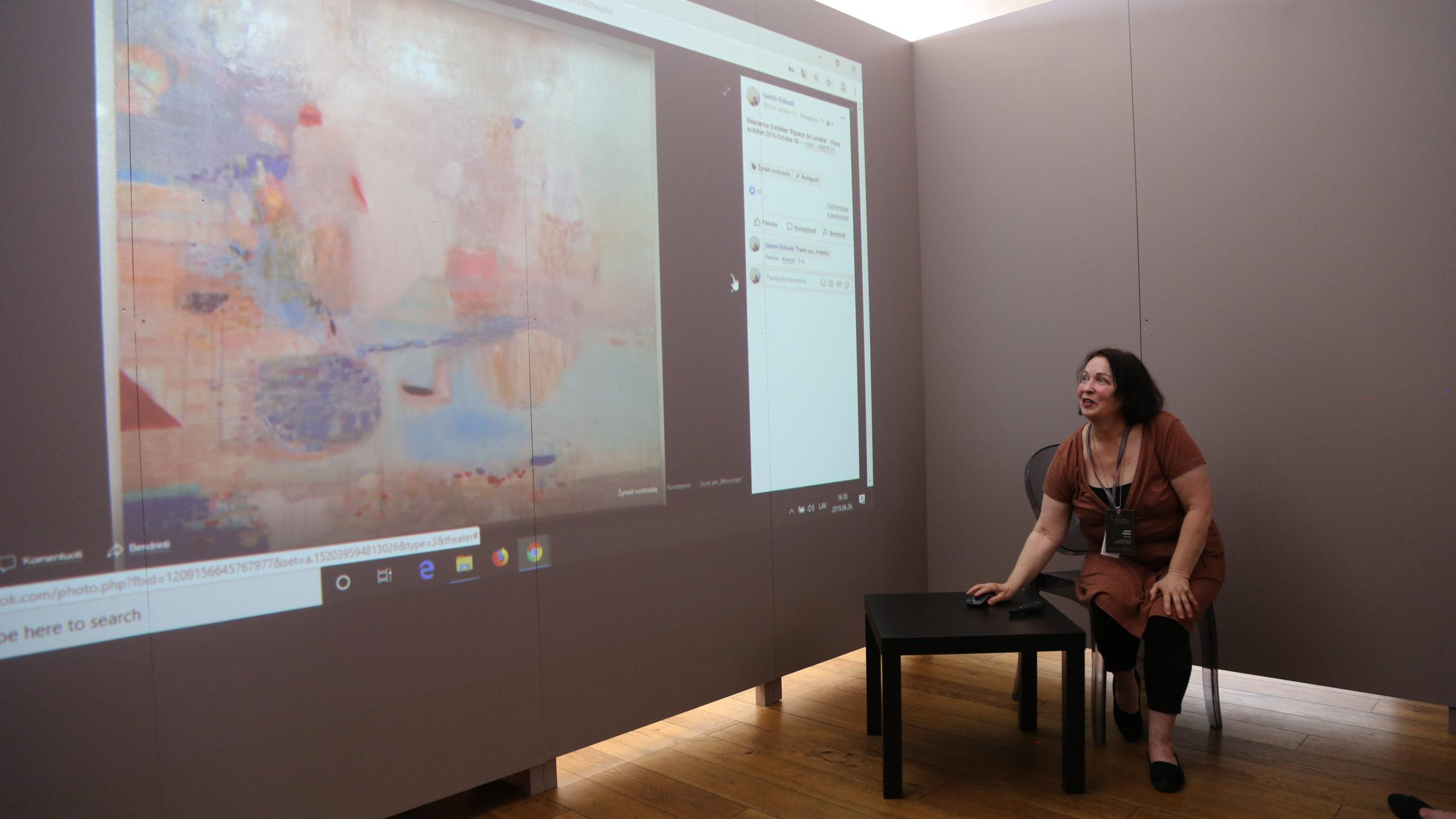 2. starptautiskā glezniecības simpozija dalībnieku prezentācijas