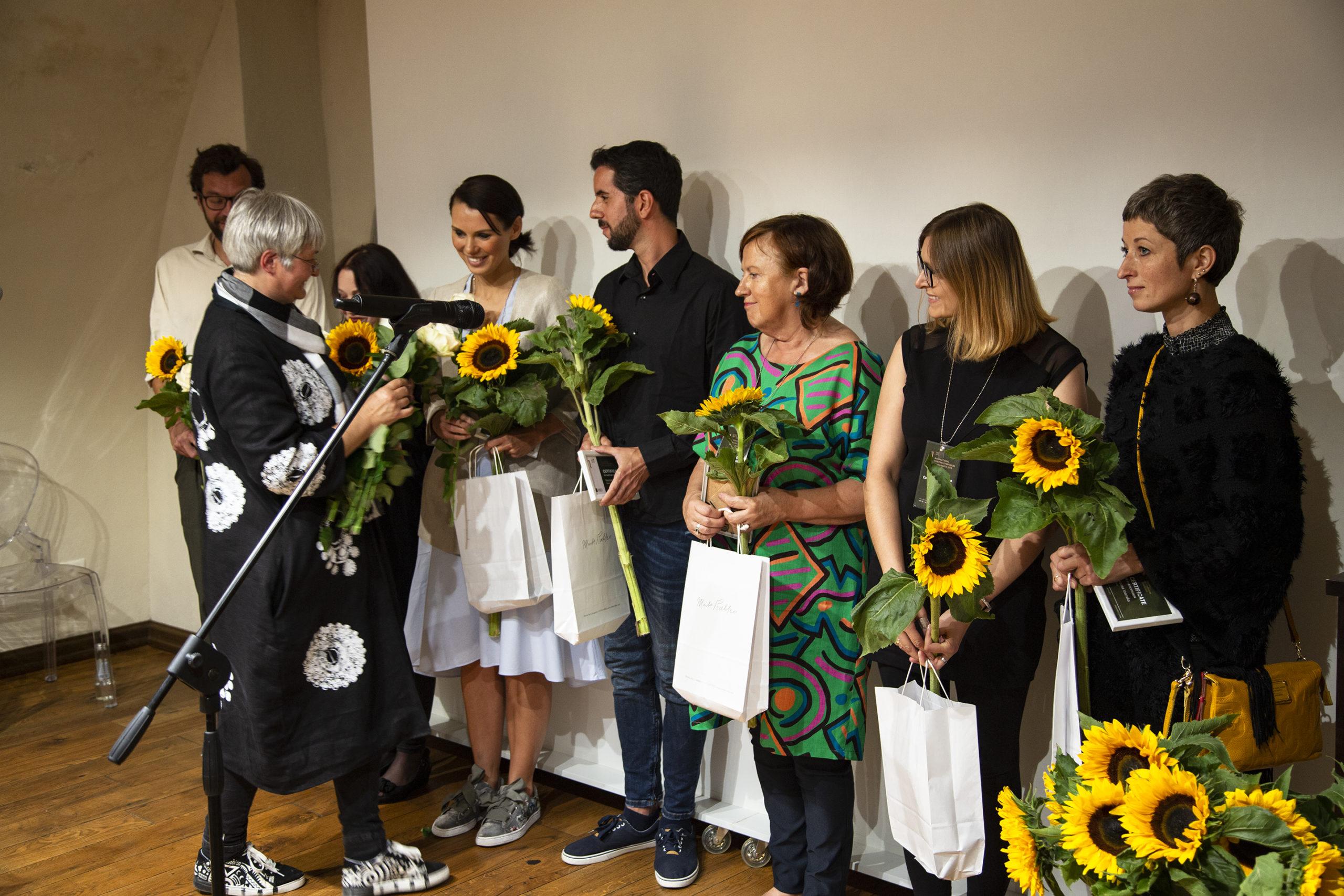 """2. starptautiskā glezniecības simpozija """"Silva Linarte"""" noslēguma izstādes atklāšana"""