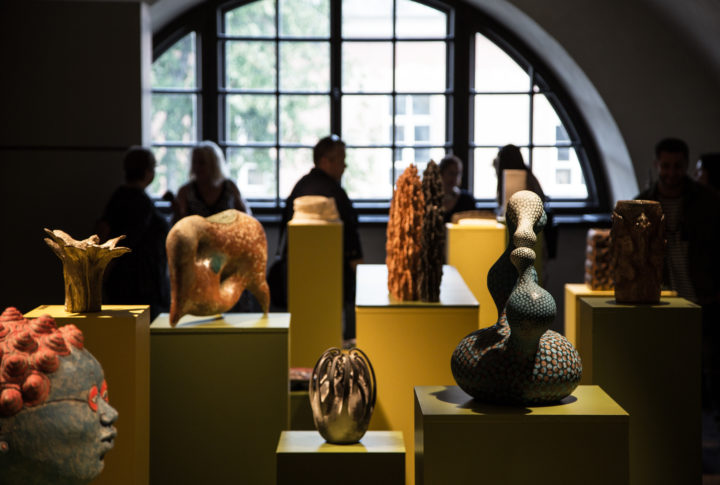 Closing exhibition of the 8th International Ceramic Art Symposium