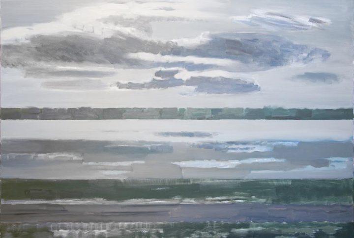 Персональная выставка художницы Валды Межбарде в доме Райниса в Беркенеле