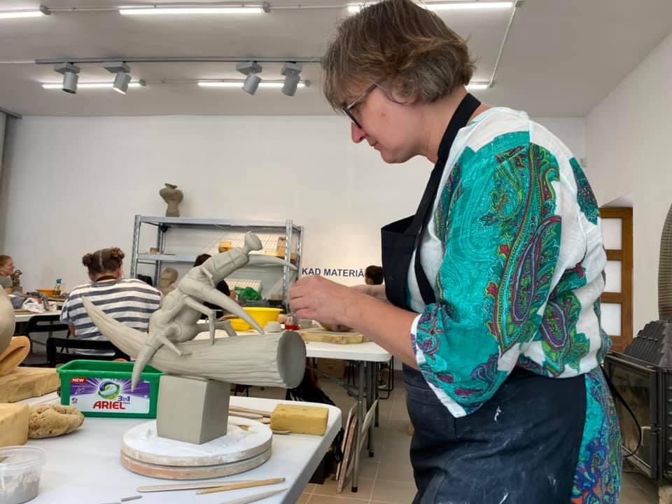 В Даугавпилсе проходит 8-й Международный симпозиум керамического искусства