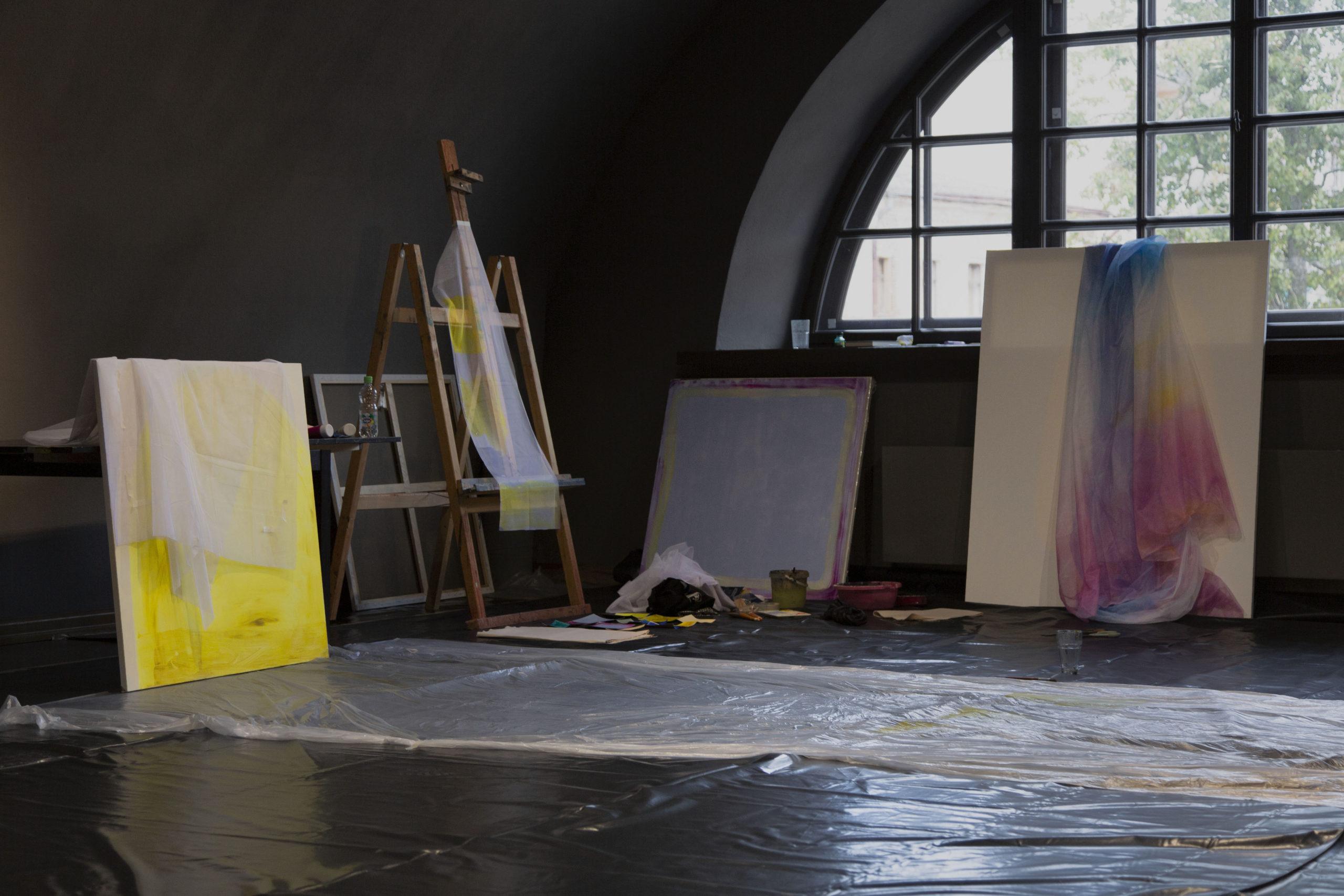 """Simpozija """"Mark Rothko"""" noslēguma izstādes atklāšana"""