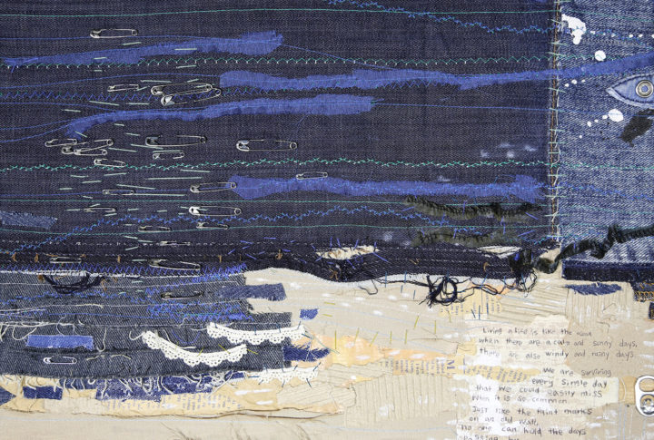 Exhibition from the Rothko Centre's textile art collection available in Balvi