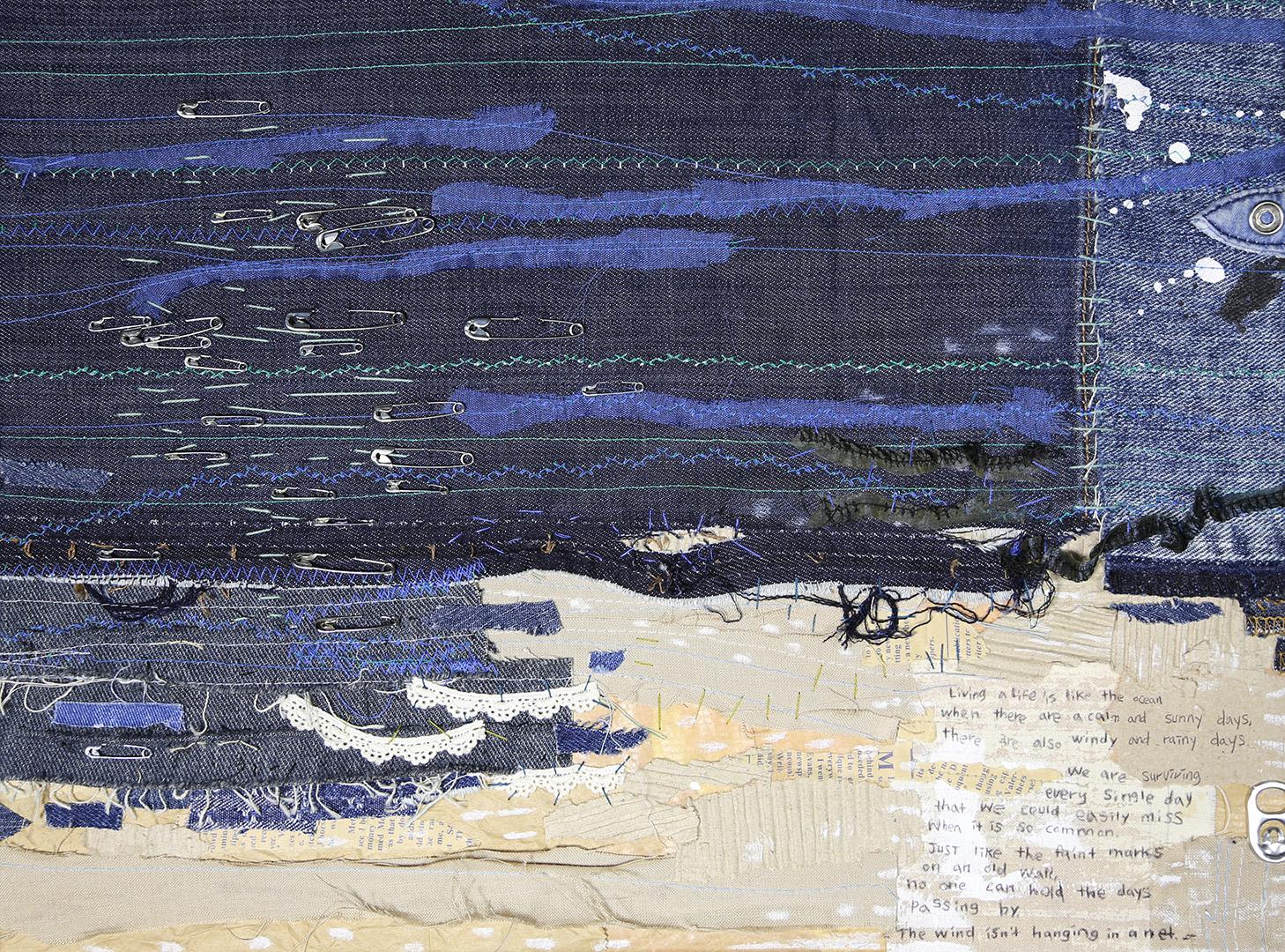 Balvos skatāma Rotko centra tekstilmākslas kolekcijas izstāde