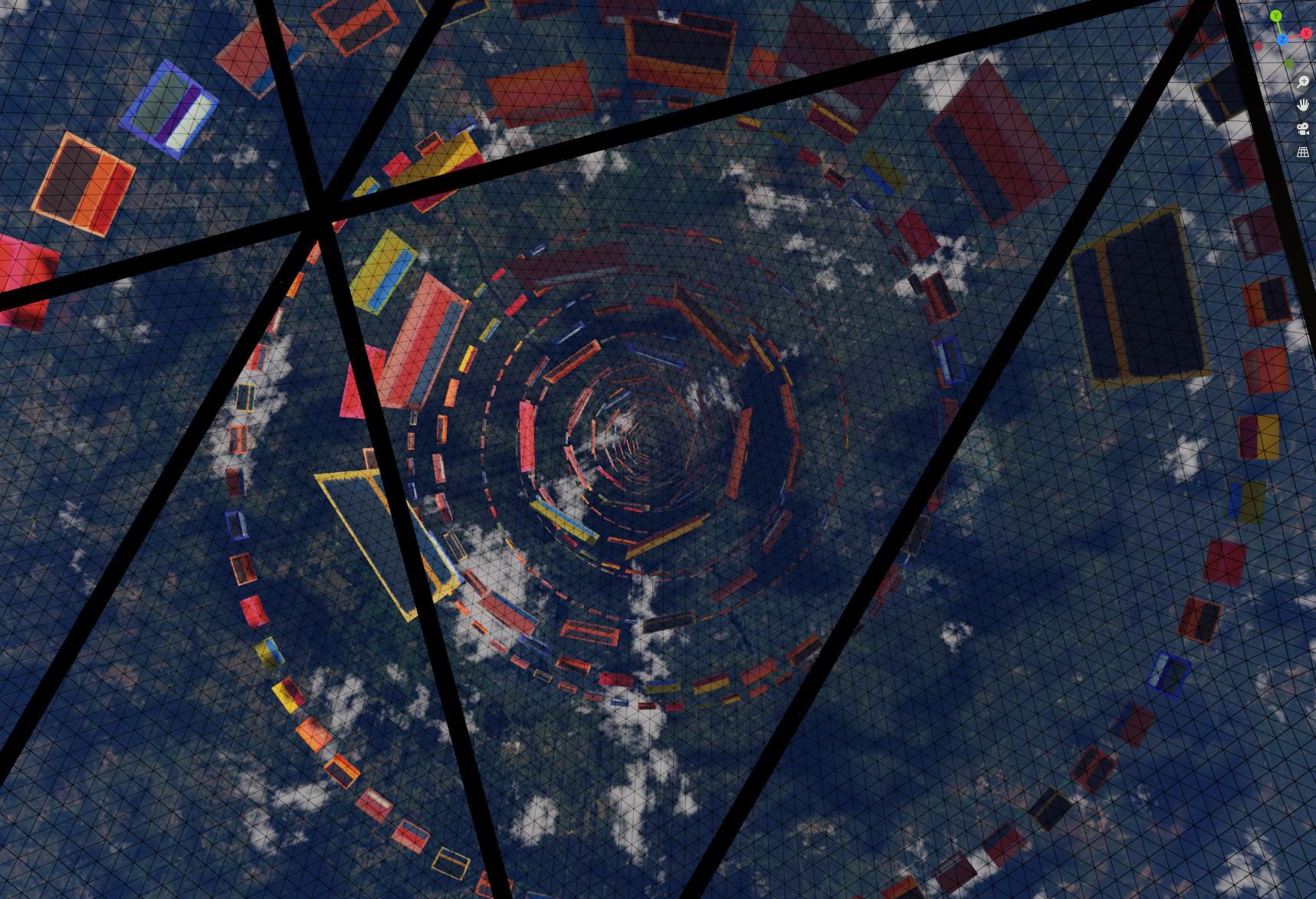 The Curved Horizon. The Rothko Lift