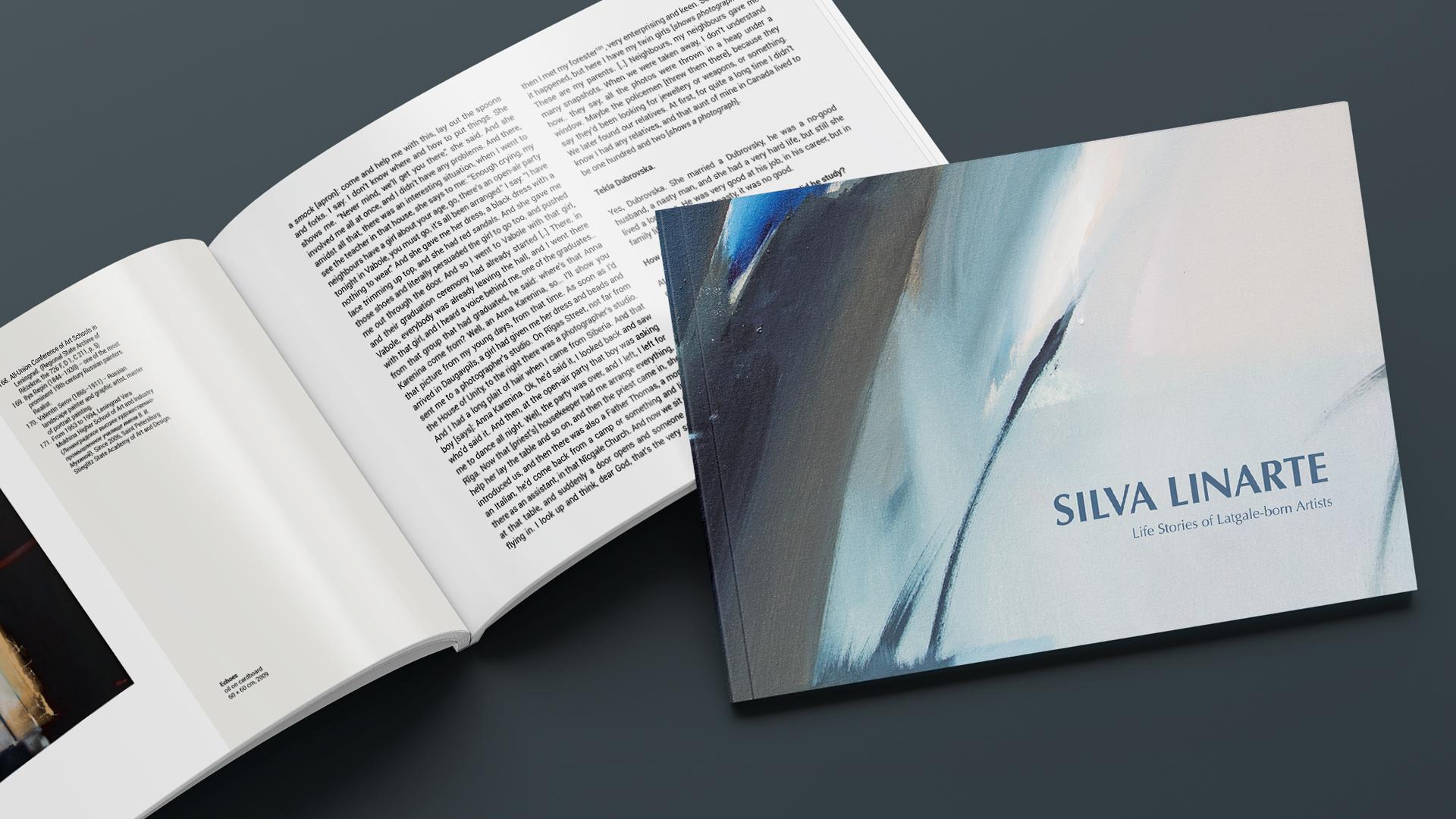 Iznācis mākslinieces Silvas Linartes dzīvesstāsta tulkojums angļu valodā