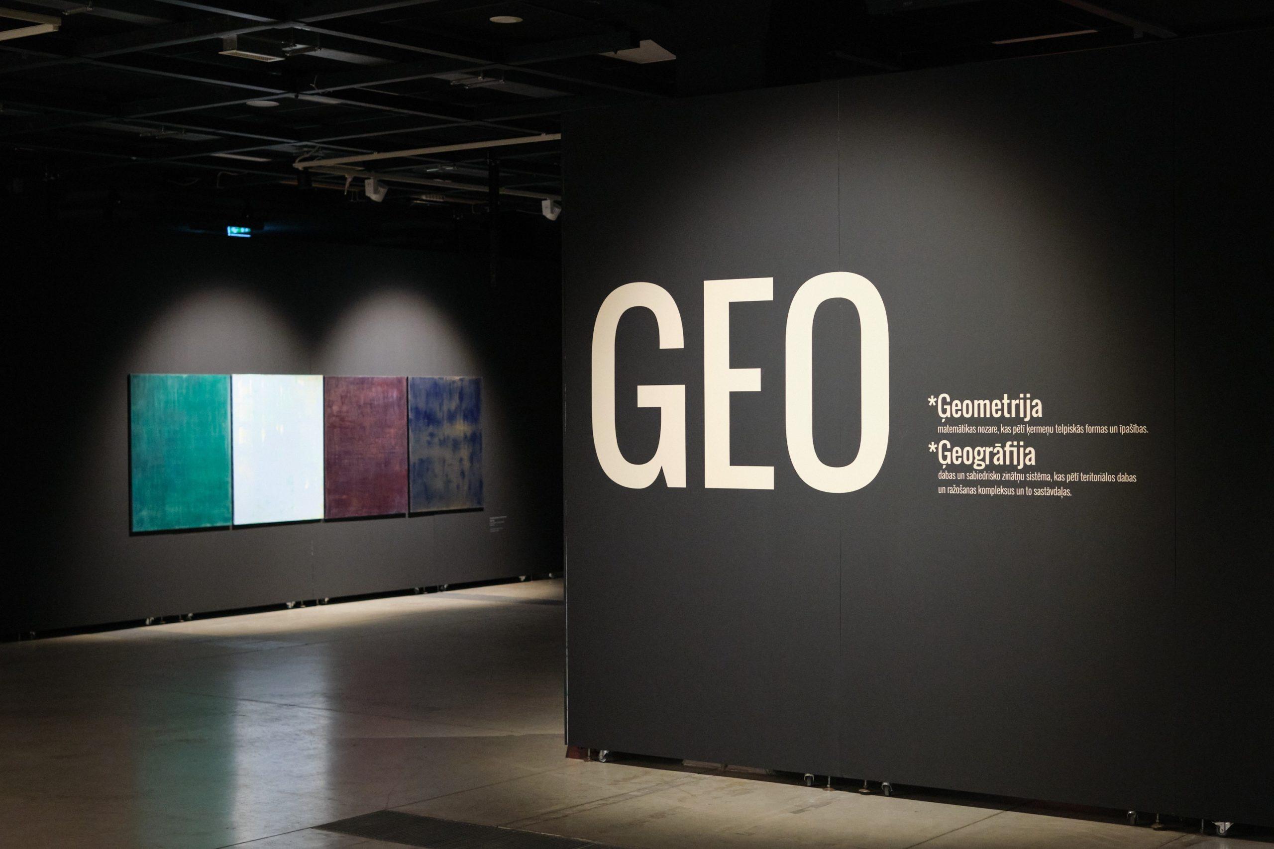 GEO: laikmetīgā glezniecība Rīgas mākslas telpā