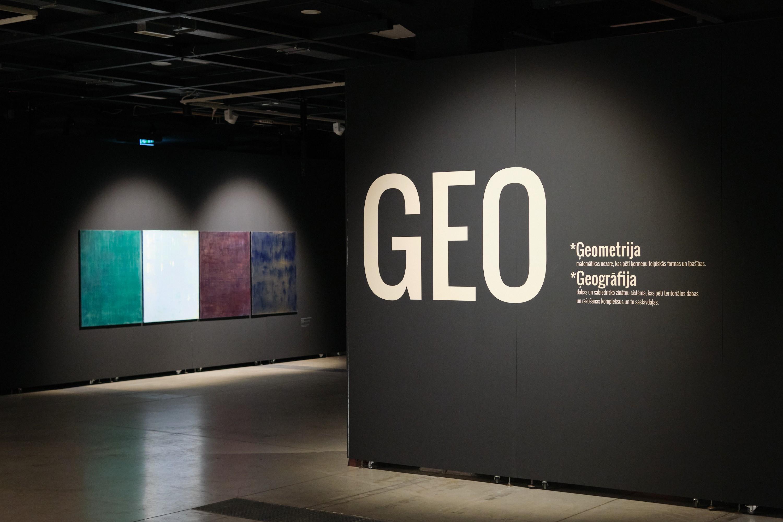 GEO: contemporary painting in Rīga Art Space