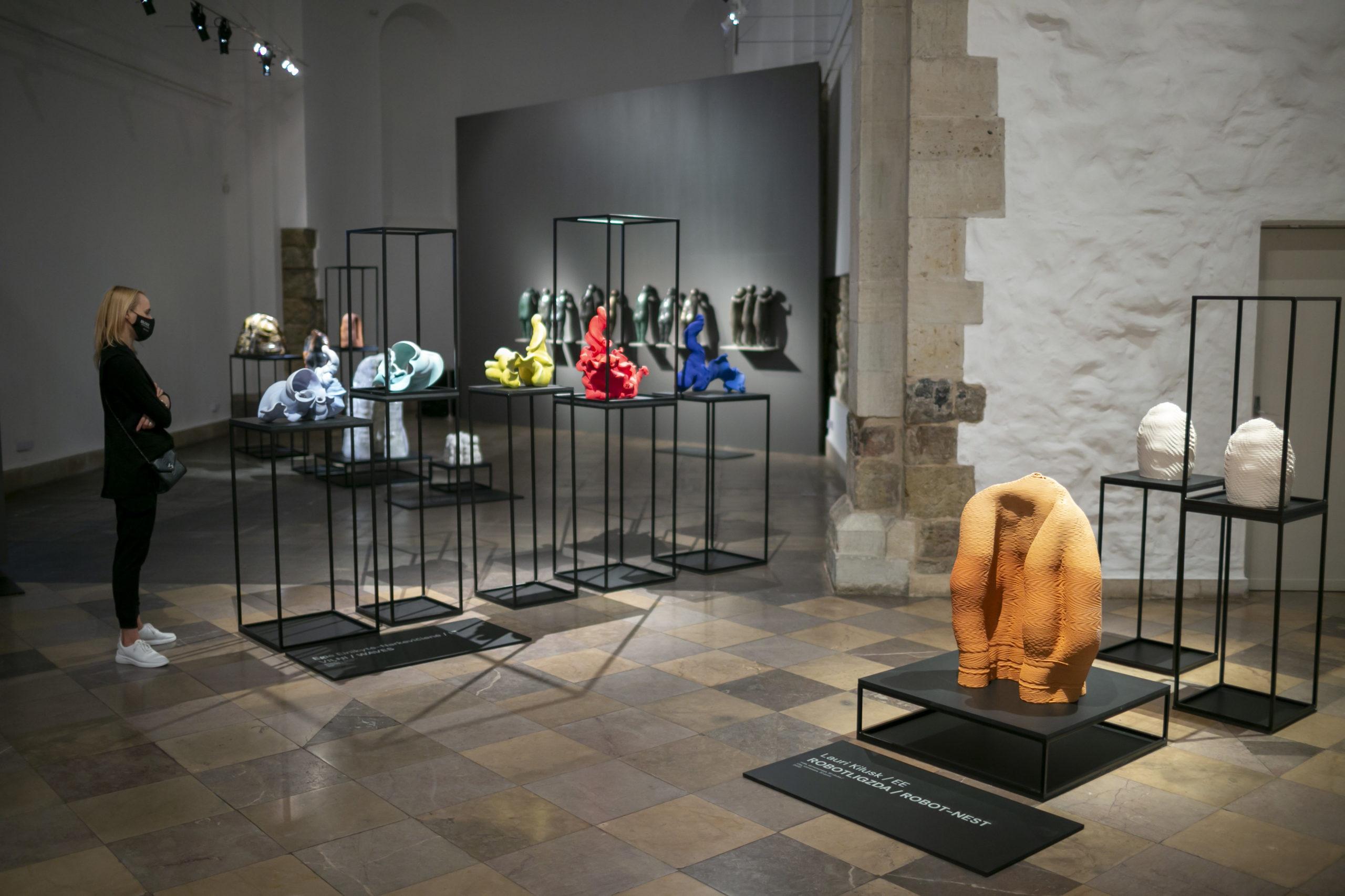 """""""Creo Ergo Sum: Baltijas laikmetīgā keramika"""" Dekoratīvās mākslas un dizaina muzejā"""