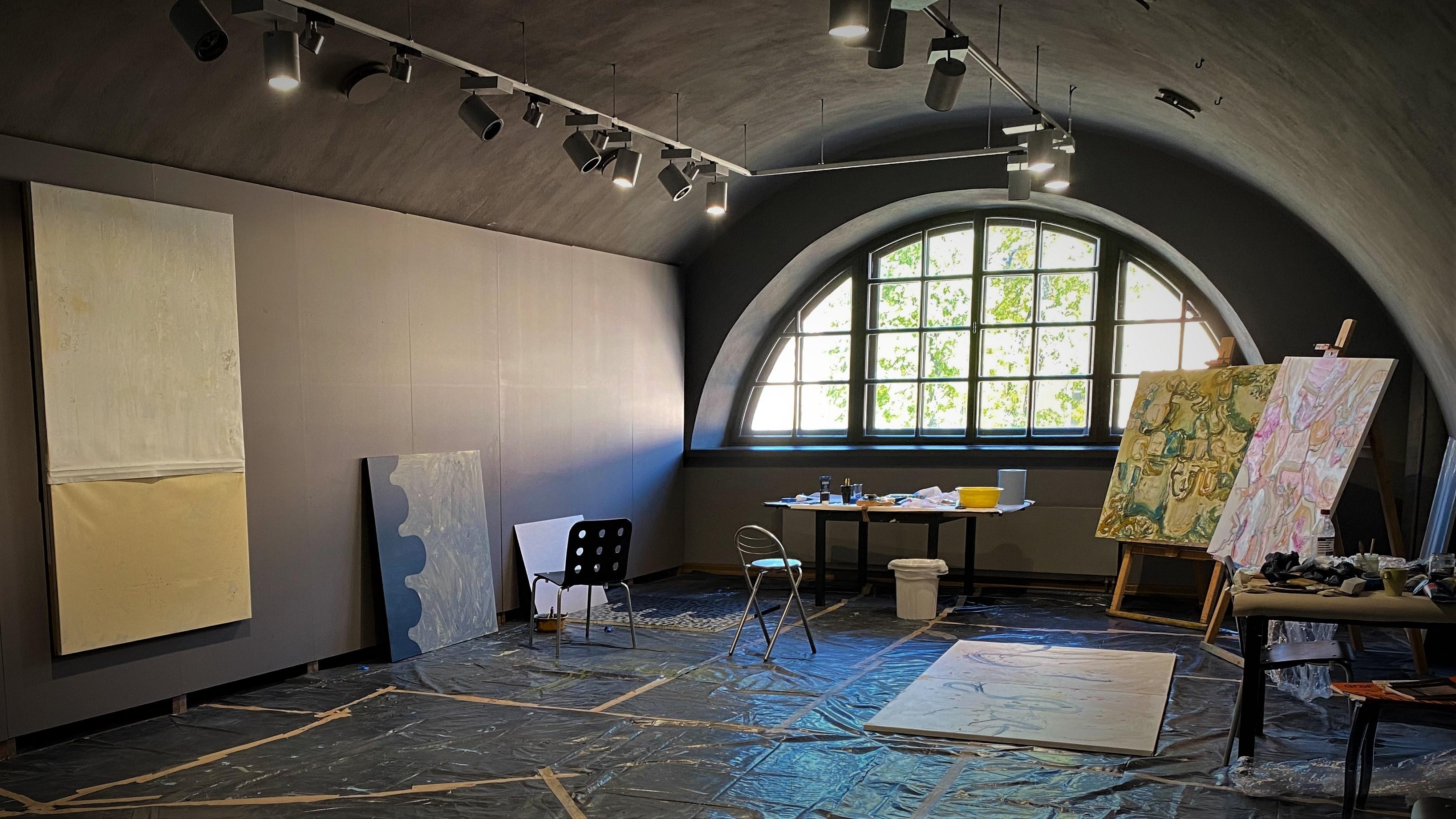 В Даугавпилсе стартовал 17-й Международный симпозиум живописи «Марк Ротко 2021»