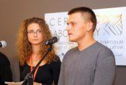 Starptautiskā keramikas mākslas simpozija CERAMIC LABORATORY atklāšana DMRMC 1