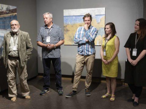 Заключительная выставка 2-го международного симпозиума живописи СИЛВА ЛИНАРТЕ 6