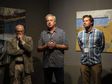 Заключительная выставка 2-го международного симпозиума живописи СИЛВА ЛИНАРТЕ 7