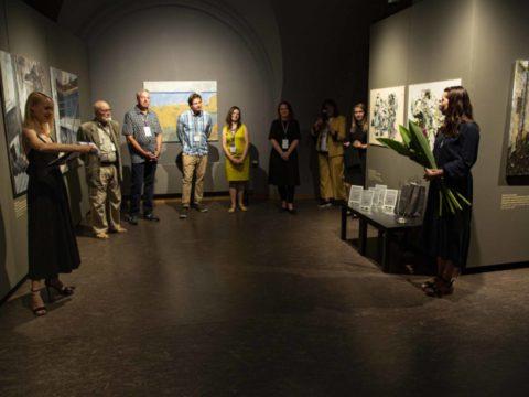 Заключительная выставка 2-го международного симпозиума живописи СИЛВА ЛИНАРТЕ 10