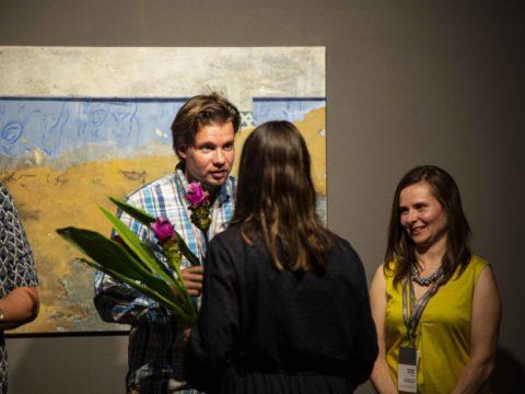Заключительная выставка 2-го международного симпозиума живописи СИЛВА ЛИНАРТЕ 12