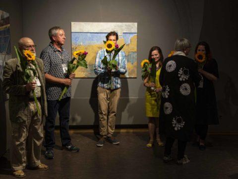Заключительная выставка 2-го международного симпозиума живописи СИЛВА ЛИНАРТЕ 15