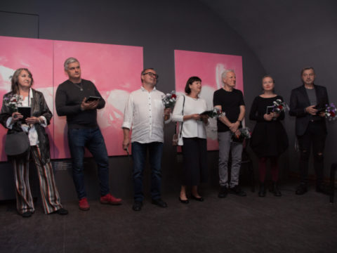 "Сlosing exhibition of the ""Mark Rothko"" symposium 4"