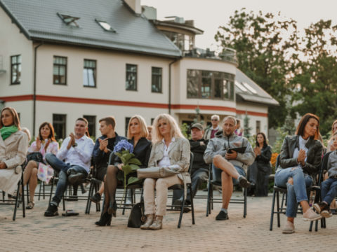Opening of an exhibition from the Rothko Centre collection in Sigulda 4