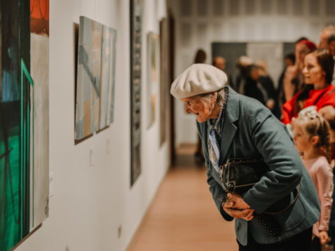 Opening of an exhibition from the Rothko Centre collection in Sigulda 10