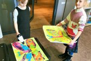 Painting workshops during school holidays 1
