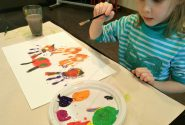 Painting workshops during school holidays 4