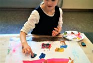Painting workshops during school holidays 5