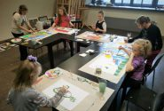 Painting workshops during school holidays 6