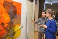 Выставка симпозиума живописи «Mark Rothko» в Риге 6