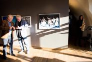 """Daugavpils Tautas fotostudijas """"Ezerzeme-F"""" fotogrāfiju izstādes atklāšana 2"""