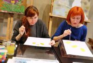 Watercolor workshop on 7 March 2015v 7