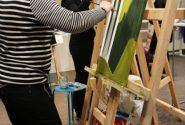 Akvareļglezniecības darbnīca 2015. gada 7. martā