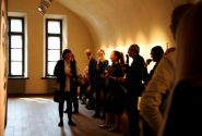 "A meeting with the Zariņi family and the curator of ""Four Exhibitions"" Inga Šteimane 14"
