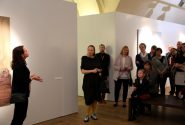 "A meeting with the Zariņi family and the curator of ""Four Exhibitions"" Inga Šteimane 7"