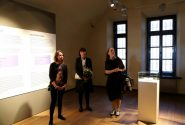 "A meeting with the Zariņi family and the curator of ""Four Exhibitions"" Inga Šteimane 5"
