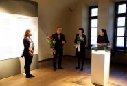 "A meeting with the Zariņi family and the curator of ""Four Exhibitions"" Inga Šteimane 2"