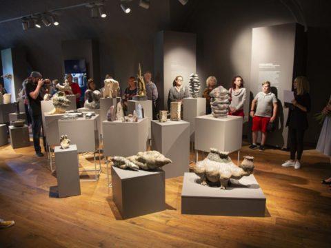 8. starptautiskā keramikas mākslas simpozija noslēguma izstāde 13