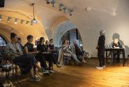 Master class by American artist at the Rothko Centre 4