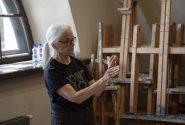 Amerikāņu mākslinieces meistardarbnīca Rotko centrā 11