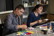 Amerikāņu mākslinieces meistardarbnīca Rotko centrā 14
