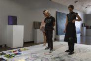 Amerikāņu mākslinieces meistardarbnīca Rotko centrā 16